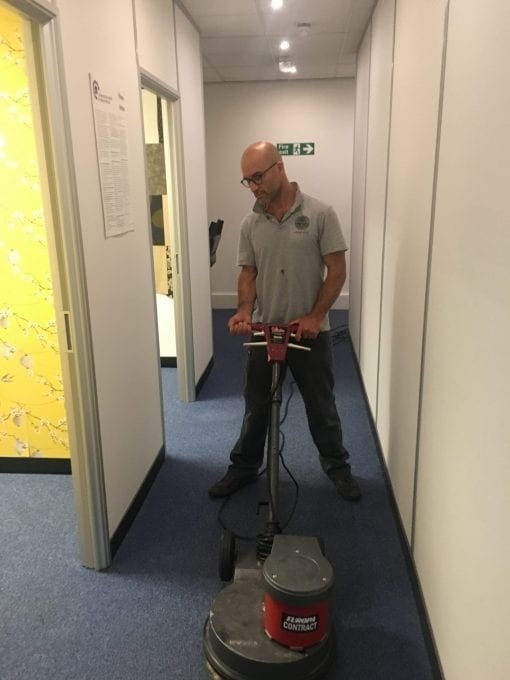 Charity Commercial Carpet Clean Green Man Cleaning